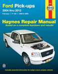 Ford Pick-Ups Haynes Repair Manual (2004-2012)