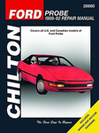 Ford Probe Chilton Repair Manual (1989-1992)