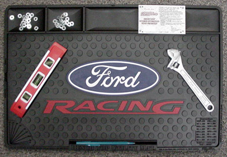 Ford Racing Logo Bench Top Utility Mat