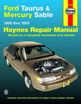 Ford Taurus & Mercury Sable Haynes Repair Manual (1986 - 1995)