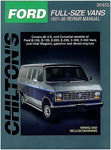 Ford Vans Chilton Repair Manual (1961-1988)