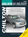 GM Avalanche, Silverado, Sierra, Suburban, Tahoe, & Yukon Chilton Repair Manual (2007-2013)