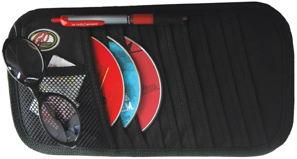 Go Gear 10 CD Visor Organizer