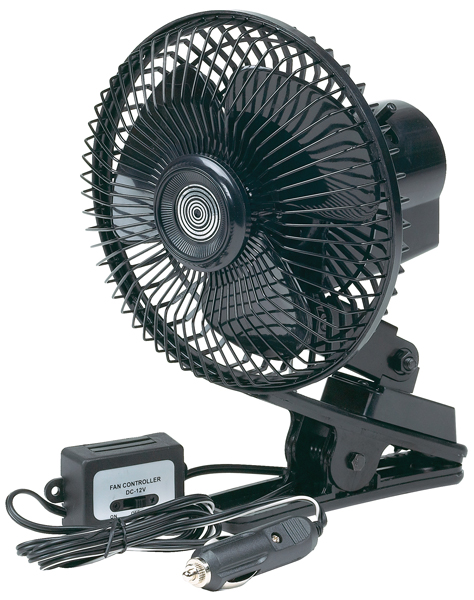 go gear 12 volt oscillating fan hop77570. Black Bedroom Furniture Sets. Home Design Ideas