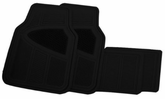 Goodyear Premium Rubber All Season Floor Mat Sets (4 Piece)