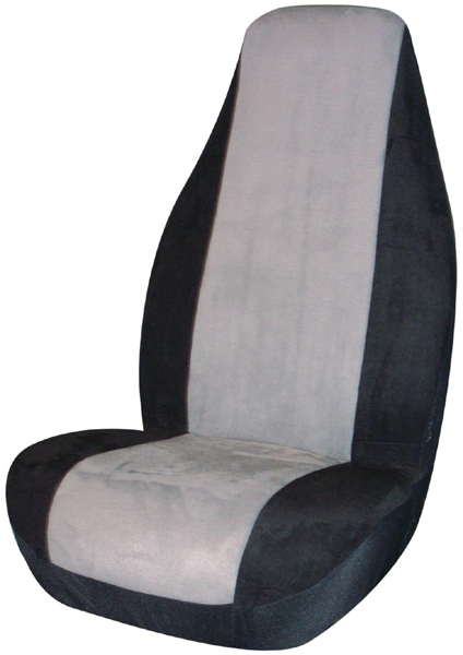 Image of Gray Memory Foam Universal Bucket Seat Cover