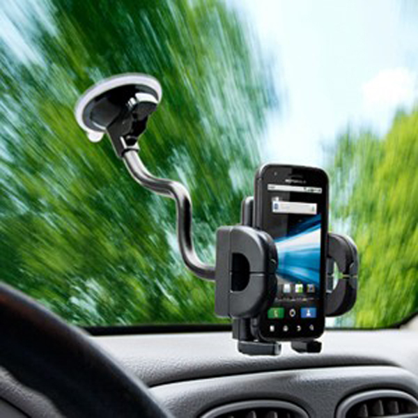Image of Bracketron Grip-iT Rotating Windshield Mounted Mobile Device Holder