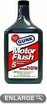 Gunk 5-Minute Motor Flush (32 oz.)