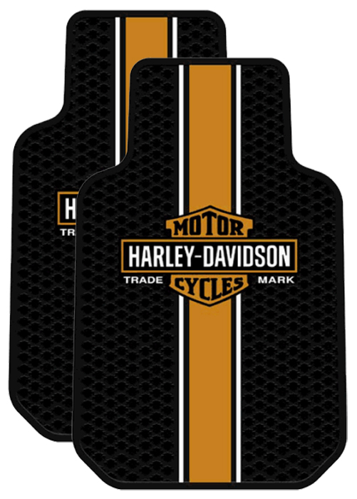 Image of Harley Davidson Classic Floor Mats (Pair)
