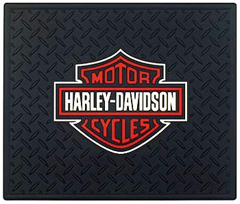 Image of Harley Davidson Rubber Utility Mat