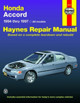 Haynes Repair Manual For Honda Accord (1994-1997)
