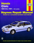 Haynes Repair Manual For Honda Civic (1984-1991)