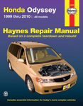 Haynes Repair Manual For Honda Odyssey (1999-2010)