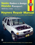 Haynes Repair Manual For Isuzu Rodeo & Amigo, Honda Passport (1991-2002)