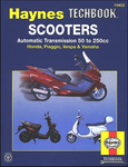 Haynes Techbook Scooters: Automatic Transmission 50 to 250cc