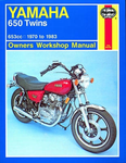 Haynes Yamaha 650 Twins 653cc models (1970 to 1983)
