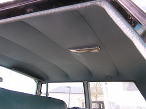 Heads up vintage bow type headliner conversion kit xxxhu btc80 Car interior ceiling fabric repair