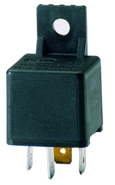 Image of Hella 20/40 Amp SPDT Mini Relay With Bracket