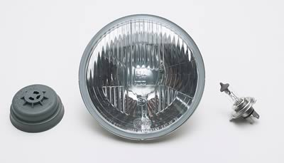 Image of Hella Halogen European-Styled Headlamps - Off-Road Use Only
