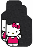 Hello Kitty Waving Rubber Floor Mats (Pair)
