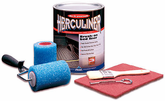 Herculiner Black Brush-On Truck Bed Liner Kit (Gallon)