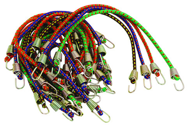 "Image of Highland 20 Piece 10"" Bungee Cord Pack"