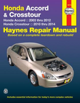 Honda Accord & Crosstour Haynes Repair Manual (2003-2014)