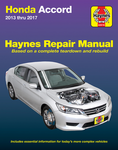 Honda Accord Haynes Repair Manual (2013-2017)