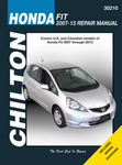Honda Fit Chilton Repair Manual (2007-2013)