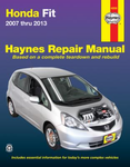 Honda Fit Haynes Repair Manual (2007-2013)
