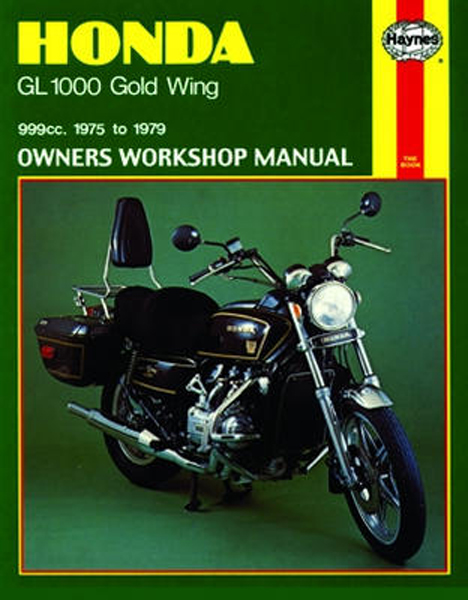 Honda Gl1000 Gold Wing Haynes Repair Manual  1975 - 1979