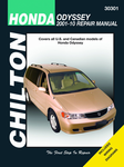 Honda Odyssey Chilton Repair Manual (2001-2010)