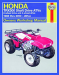 Honda TRX300 Shaft Drive Haynes Repair Manual (1988 - 2000)