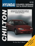 Hyundai Coupes & Sedans Chilton Manual (1994 - 1998)