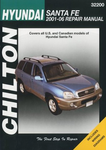 Hyundai Santa Fe Chilton Repair Manual (2001-2006)