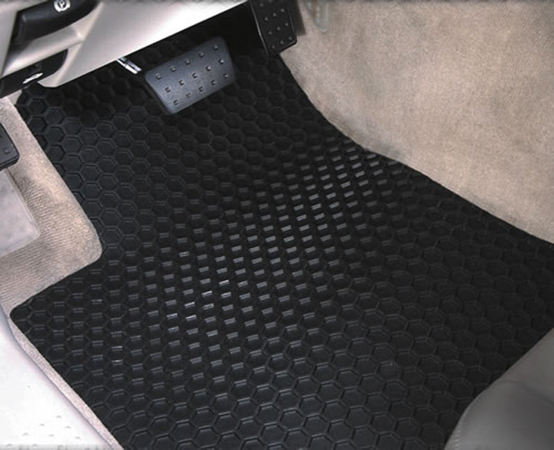 Intro-Tech Custom All Season Hexomat Floor Mats ...