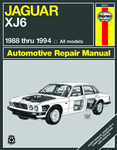 Jaguar XJ6 Haynes Repair Manual (1988-1994)