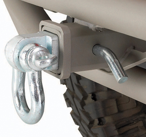 "Jeep 9500 LB. Class III 2"" Receiver Hitch D-Ring"