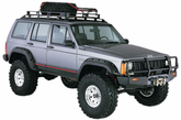Jeep Cherokee Bushwacker Cut-Out Fender Flare Kit (1984-2001)