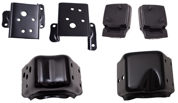 Jeep cj engine mounting bracket kit 1974 1981 xxx17472 05 for Jeep motor mount bracket