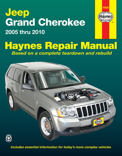 Jeep Grand Cherokee Haynes Repair Manual  2005