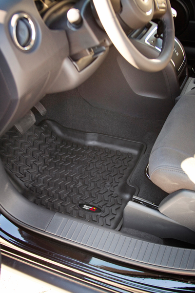 Jeep Liberty Front All Terrain Floor Liners Pair 2008