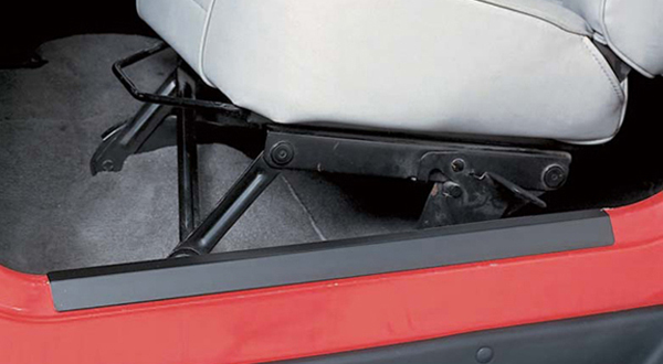 Jeep Wrangler Black Entry Guards-Pair 1997-2006