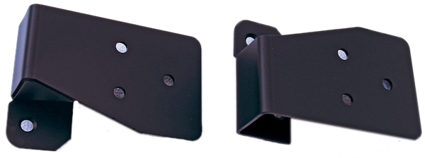 Jeep Wrangler Black Mirror Relocation Brackets-Pair (2003-2006)