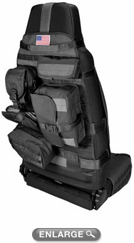 Jeep Wrangler Front Cargo Bucket Seat Cover (1987-2017)