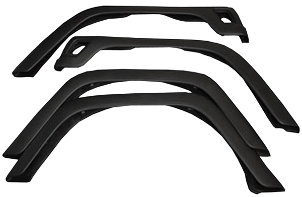 Click here for Jeep Wrangler TJ 4-PC Fender Flares 1997-2006 prices
