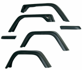 "Jeep Wrangler TJ 6 Piece 7"" Wide Fender Flare Kit (1997-2006)"