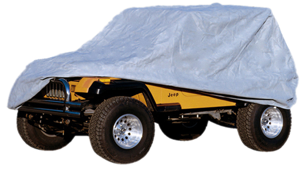 Jeep Wrangler Rain Cover >> Jeep Wrangler & Unlimited 4 Dr Three Layer Full Car Cover Kit (2003-2017) - XXX13321-7X-Series