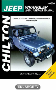 jeep wrangler yj chilton repair manual 1987 2011 hay40650 rh autobarn net chilton jeep cj manual chilton manual jeep cherokee
