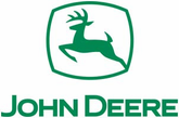 John Deere Logo Green Die Cut Decal